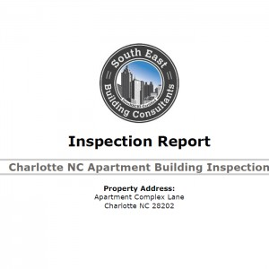 Charlotte Apartment Building Inspection