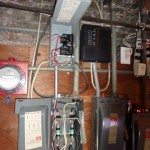 Improper installed main/sub electrical panels